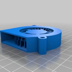 6015_mODEL.png Download free 3MF file 6015 blower fan model • Design to 3D print, madsoul666