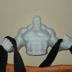 image.png Download free STL file Hulk Wall Hanger • 3D print design, madsoul666