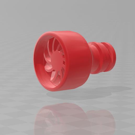 Watersaver_Garden_Hose.png Download free STL file Turbine Watersaver for Garden Hose • 3D printer object, madsoul666