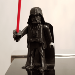 Download free 3D printing templates Darth Vader Playmobil, madsoul666