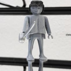 Impresiones 3D gratis Playmobil 2.0 Articulado Fácil, madsoul666