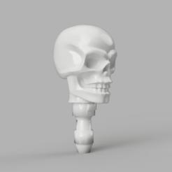01.png Download free STL file Playmobil Head Heroic Skull • 3D printable design, madsoul666