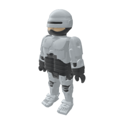 1.png Download free OBJ file Robocop Playmobil • 3D printable template, madsoul666