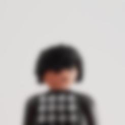 Télécharger STL gratuit Cheveux Cool Playmobil, madsoul666