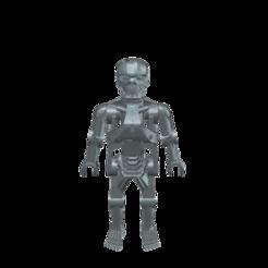 T-800_2.png Download free STL file Terminator T-800 Playmobil • 3D printable model, madsoul666