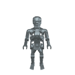 Descargar archivos 3D gratis Playmobil Terminator T-800, madsoul666