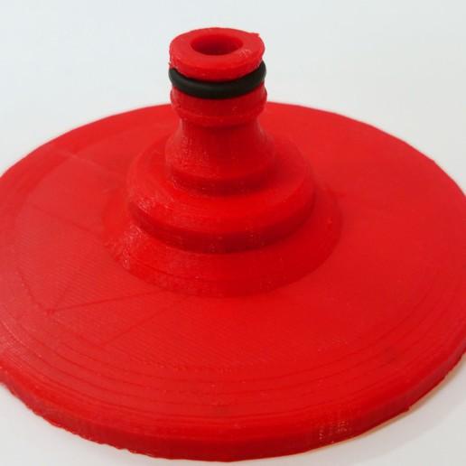 DSC_0030.JPG Télécharger fichier STL gratuit Une douche où vous voulez avec raccord de flexible • Objet imprimable en 3D, madsoul666