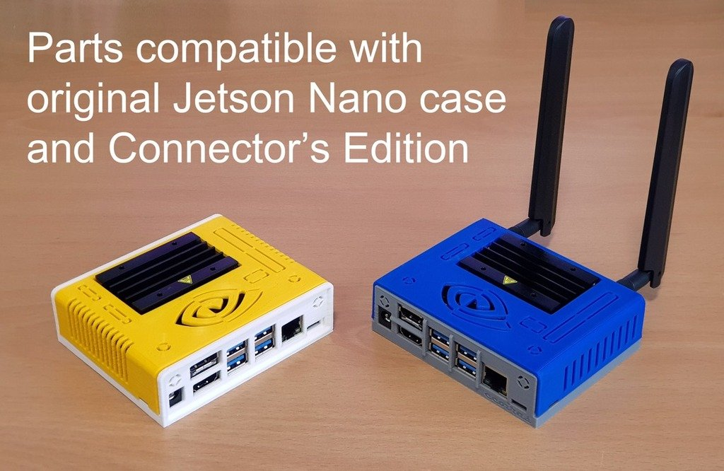 0556452be447eb8af665a23492b4bbdc_display_large.jpg Download free STL file Jetson Nano Case - ABS Edition • 3D printable object, ecoiras