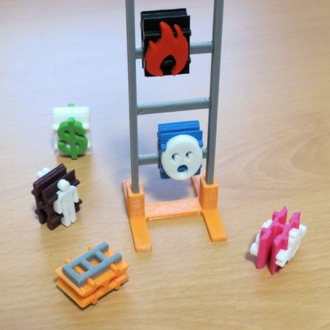 Capture d'écran 2018-03-13 à 10.56.17.png Download free STL file Ladder Peg Toy 3000: Codename Overkill • 3D printing object, ecoiras