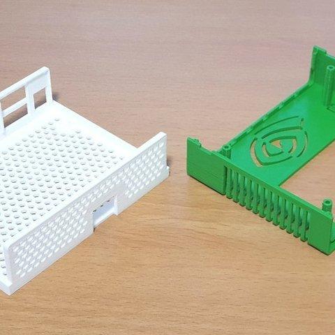 b7f7accf3b52f040a475817edbd71b6b_display_large.jpg Télécharger fichier STL gratuit Étui Jetson Nano • Objet pour imprimante 3D, ecoiras