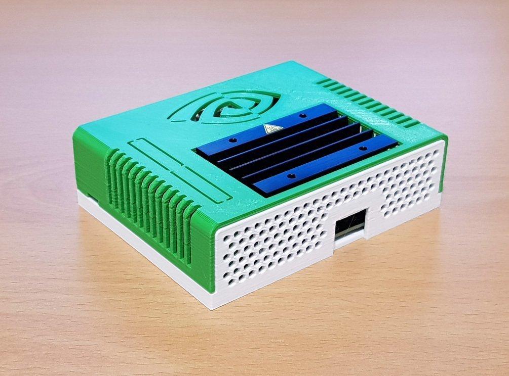 5813f0c6dd8a84fe0bf3266c35434e0e_display_large.jpg Télécharger fichier STL gratuit Étui Jetson Nano • Objet pour imprimante 3D, ecoiras