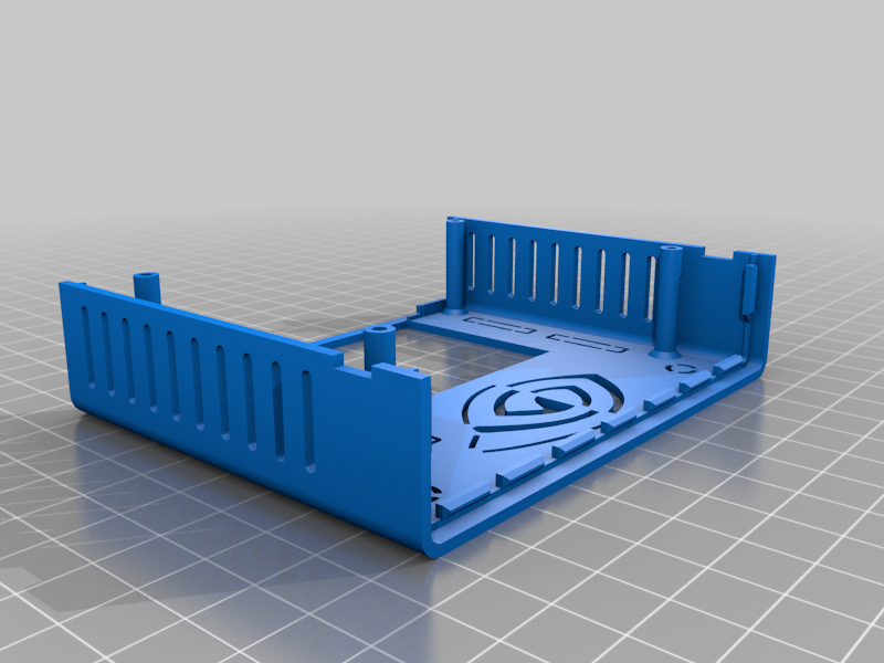 NanoBoxABSforB01_Top.png Download free STL file NanoBoxABS for B01 • 3D printer model, ecoiras