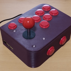 Download free 3D model Ultimate Retropie Joystick Controller -- Remix, ecoiras