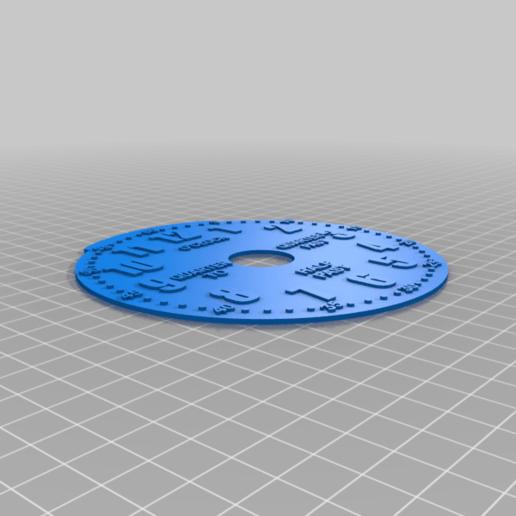 face.png Télécharger fichier STL gratuit Horloge d'apprentissage à engrenages • Modèle à imprimer en 3D, ecoiras