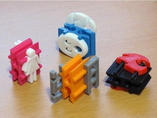710d7b19e673c48f54058f4d6d04a45a_preview_featured.jpg Télécharger fichier STL gratuit Échelle Peg Toy 3000: Codename Overkill • Modèle imprimable en 3D, ecoiras