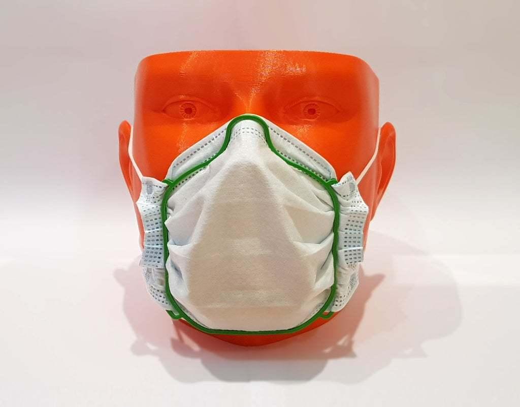 surgicalMaskFrame_v2_2.jpg Download free STL file Surgical Mask Frame v2 • 3D printing object, ecoiras