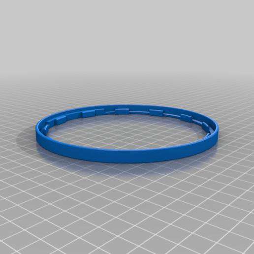rim.png Télécharger fichier STL gratuit Horloge d'apprentissage à engrenages • Modèle à imprimer en 3D, ecoiras
