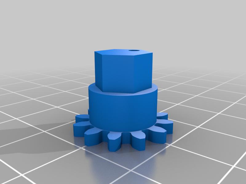 gear1.png Télécharger fichier STL gratuit Horloge d'apprentissage à engrenages • Modèle à imprimer en 3D, ecoiras