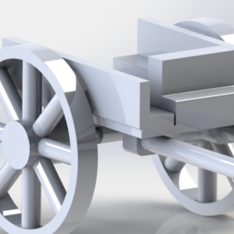 Download free 3D printer designs charrette 2 roue, trixo416