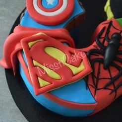 8.jpg Download STL file Superman logo • 3D printable design, popolopebest