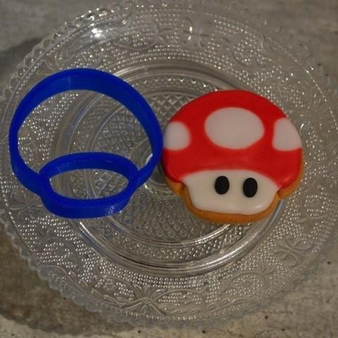 Download 3D printer designs punch piece super mario mushroom, popolopebest