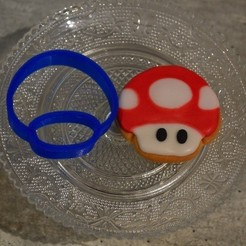 Download 3D printer designs punch piece super mario mushroom, popolopebest