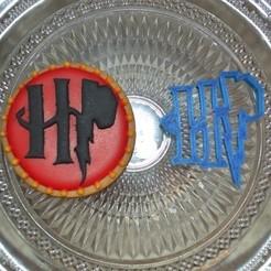 fichier imprimante 3d Logo Harry Potter Cookie Cutter, popolopebest
