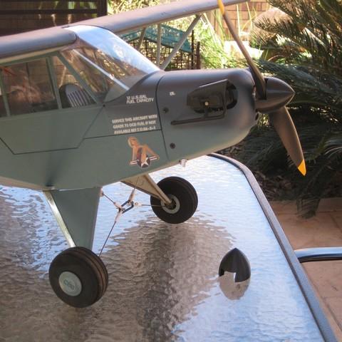 Download free 3D model J3 Navy Cub Spinner, randrews605