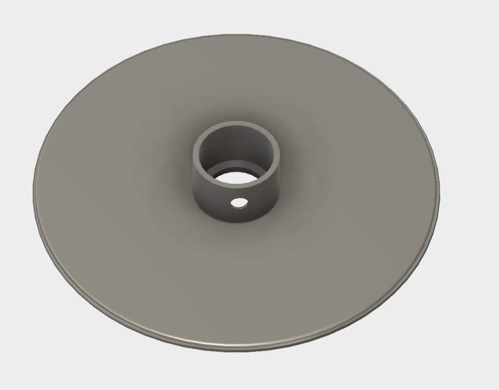 bobine fil down.jpg Télécharger fichier STL gratuit Empty Roll for enamel copper wire • Modèle pour imprimante 3D, AlDei