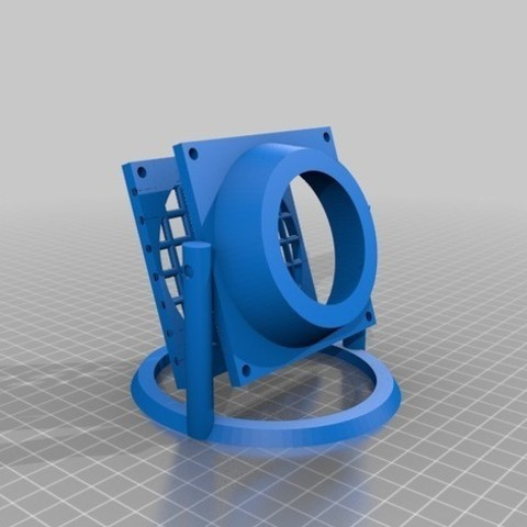 2.jpg Download STL file Fan office USB with computer fan • 3D printable model, AlDei