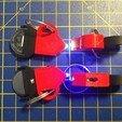 IMG_9807.JPG Download STL file Keychain Mouse led light / Keychain Led mouse (stack 2032) • Design to 3D print, AlDei
