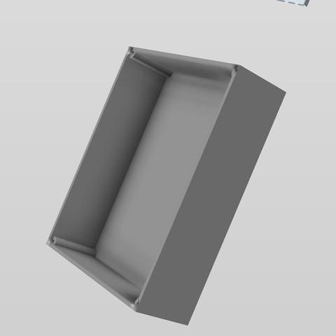 Télécharger modèle 3D Boite à fermeture aimants - Magnet closing box, AlDei