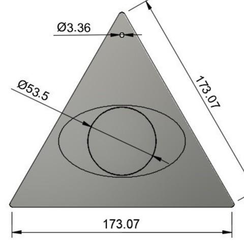 2.jpg Télécharger fichier STL gratuit Freemason Mirror • Plan à imprimer en 3D, AlDei