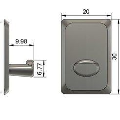 Free 3D printer designs Bracket / hook for kitchen or others, AlDei