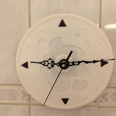 Clock Wall 3D model, AlDei
