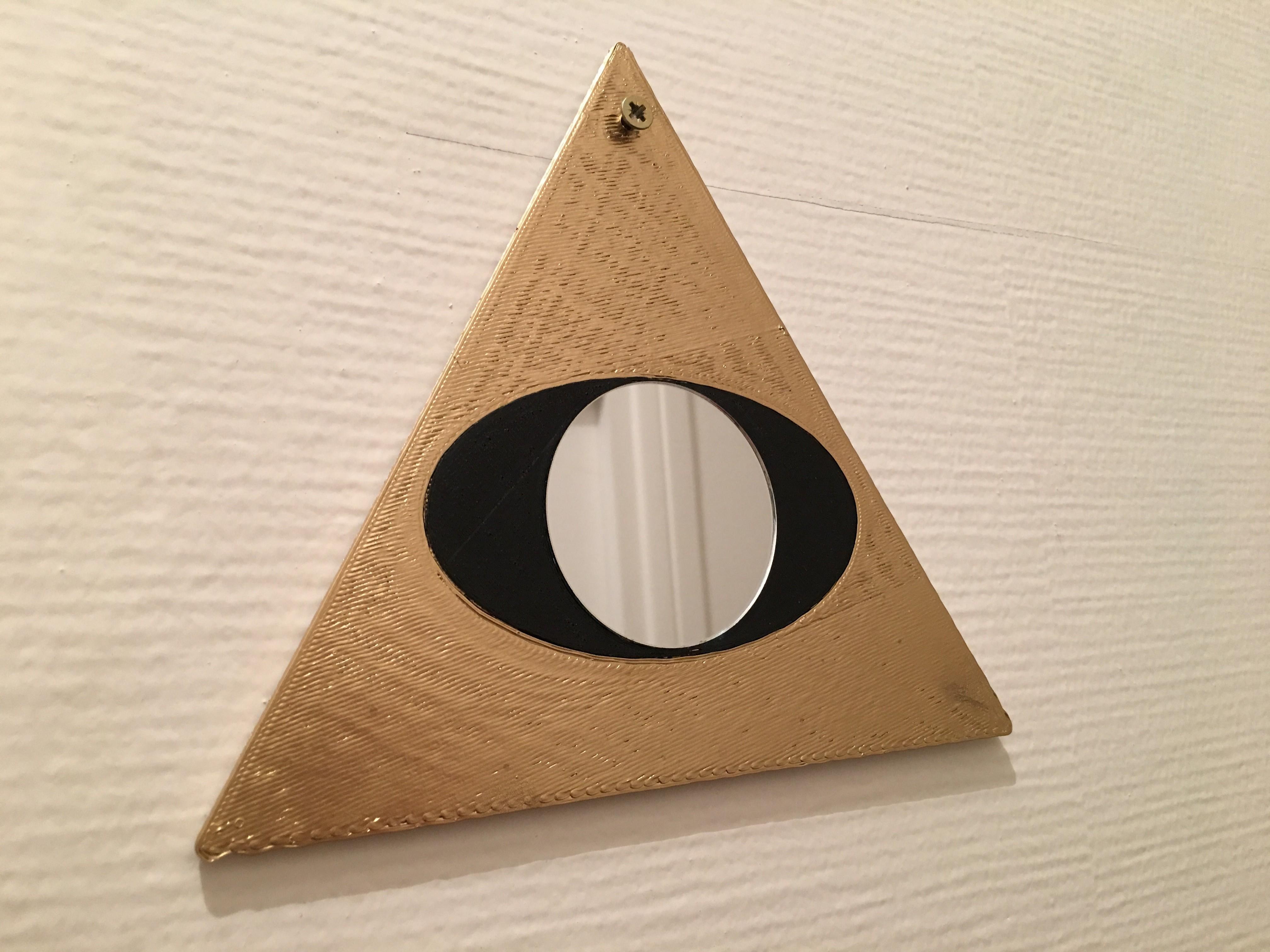 4.JPG Télécharger fichier STL gratuit Freemason Mirror • Plan à imprimer en 3D, AlDei