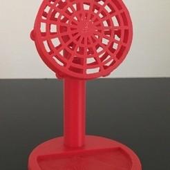 Descargar modelos 3D para imprimir Ventilador USB drone Mini Motor de Escritorio, AlDei