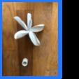 Download free 3D print files Tiara flower necklace holder, tart0uille