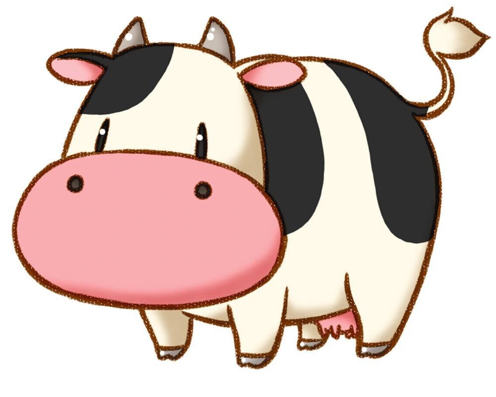 hmttt-cow.jpg Download free STL file Cow - Harvest Moon • 3D print model, JayOmega