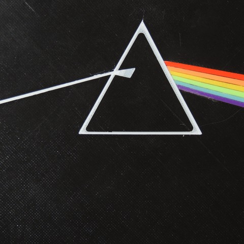 Free stl files Dark Side of the Moon - Pink Floyd, JayOmega
