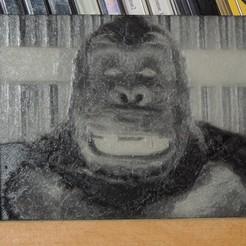 Télécharger fichier STL gratuit King Kong • Plan pour impression 3D, JayOmega