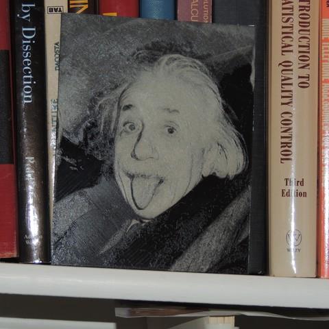 Free STL Albert Einstein, JayOmega