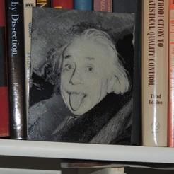 Télécharger fichier STL gratuit Albert Einstein • Plan pour imprimante 3D, JayOmega
