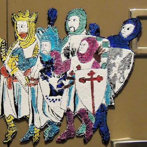 Download free 3D printing designs King Arthur and His Knights - Monty Python and the Holy Grail, JayOmega