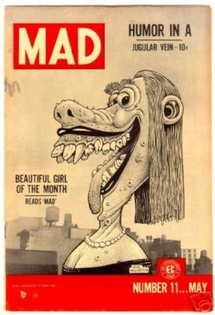 1cff5aa22b4cd95e70cdca0a75febfbf.jpg Download free STL file Lena the Hyena, Mad #11, May 1954 - Basil Wolverton  • Object to 3D print, JayOmega