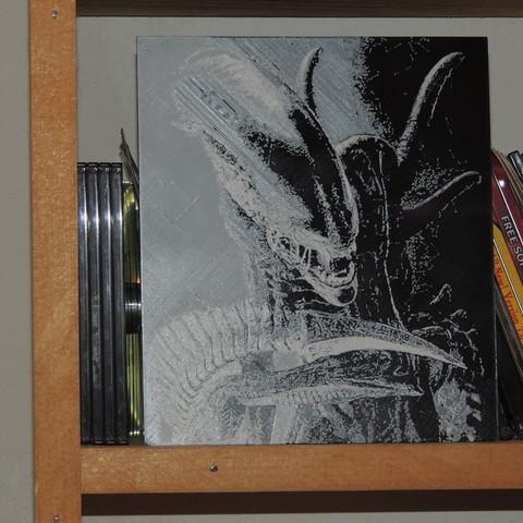 Download free STL file Alien • Design to 3D print, JayOmega