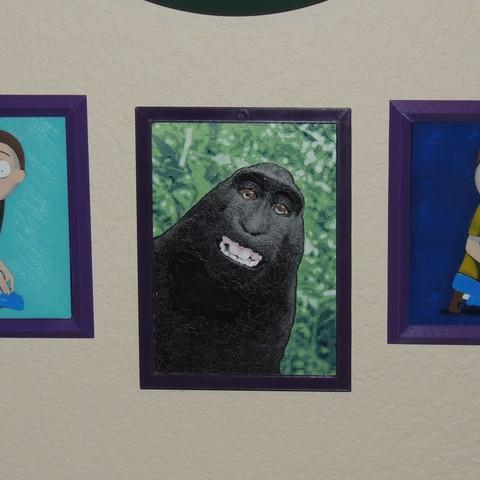 Free STL files Selfie Monkey, JayOmega