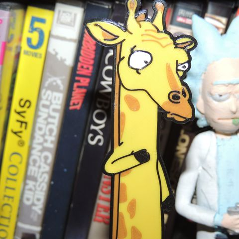 Archivos STL gratis Jirafa inversa: Rick y Morty, JayOmega