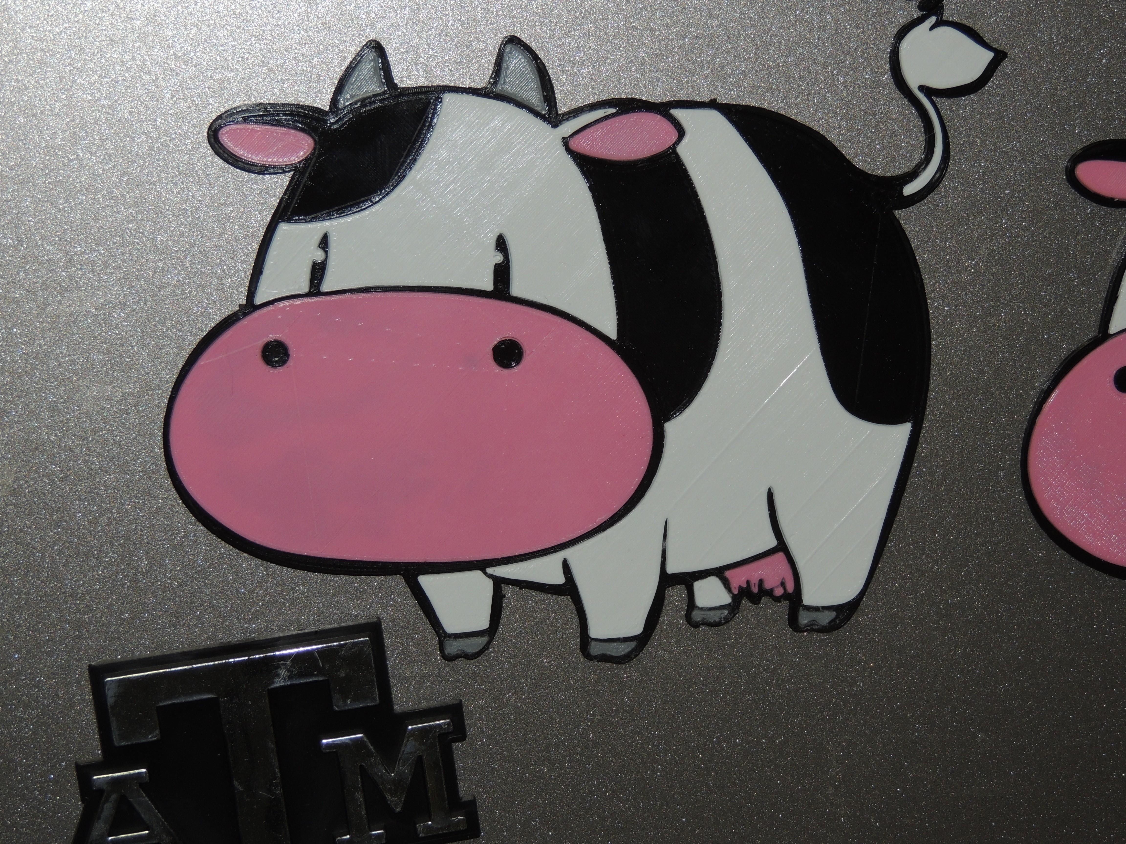 DSCN2357.JPG Download free STL file Cow - Harvest Moon • 3D print model, JayOmega