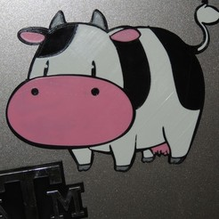 Free 3D printer files Cow - Harvest Moon, JayOmega